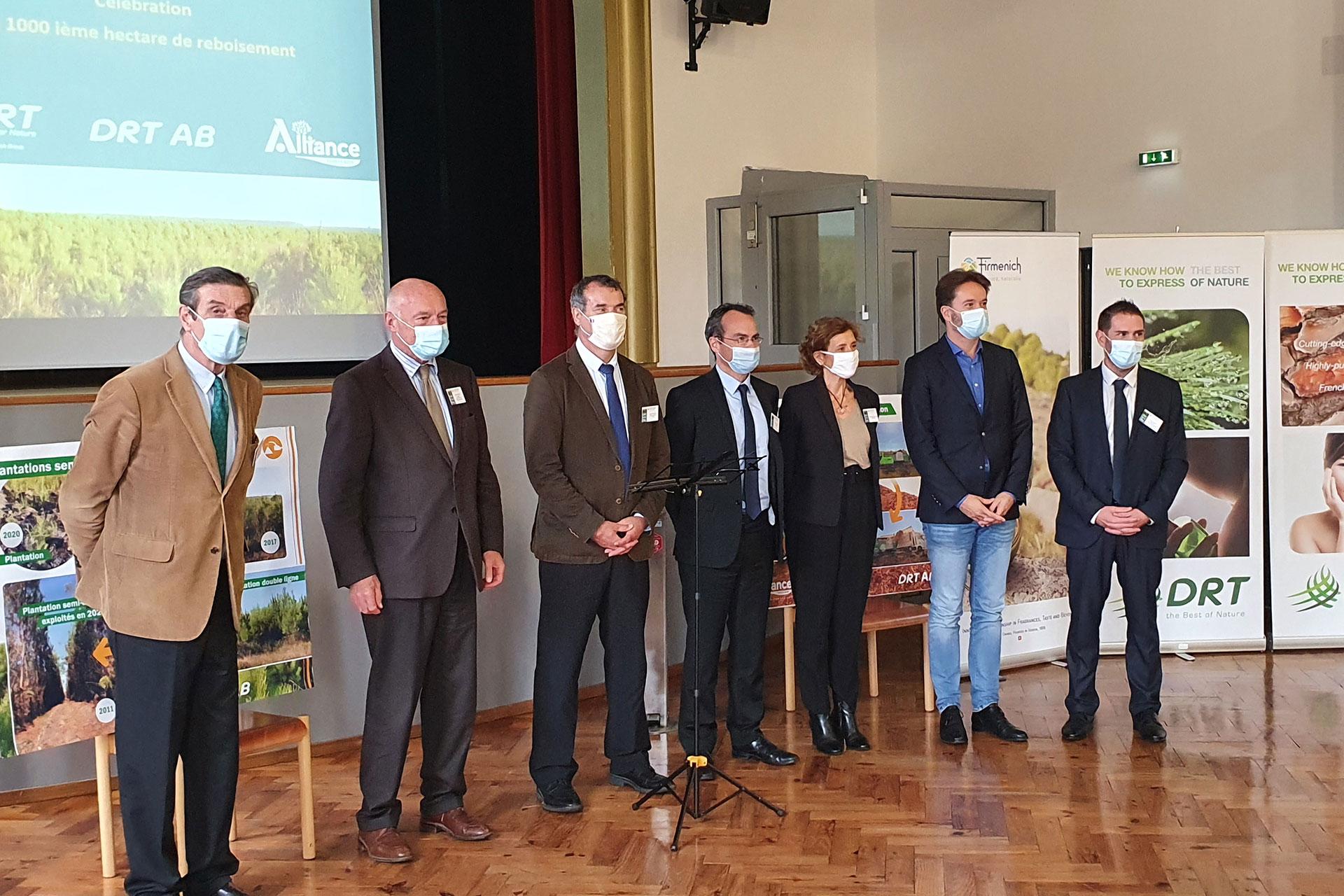 DRT AB plante son 1 000<sup>ÈME</sup> hectare de bois dédié à l'énergie