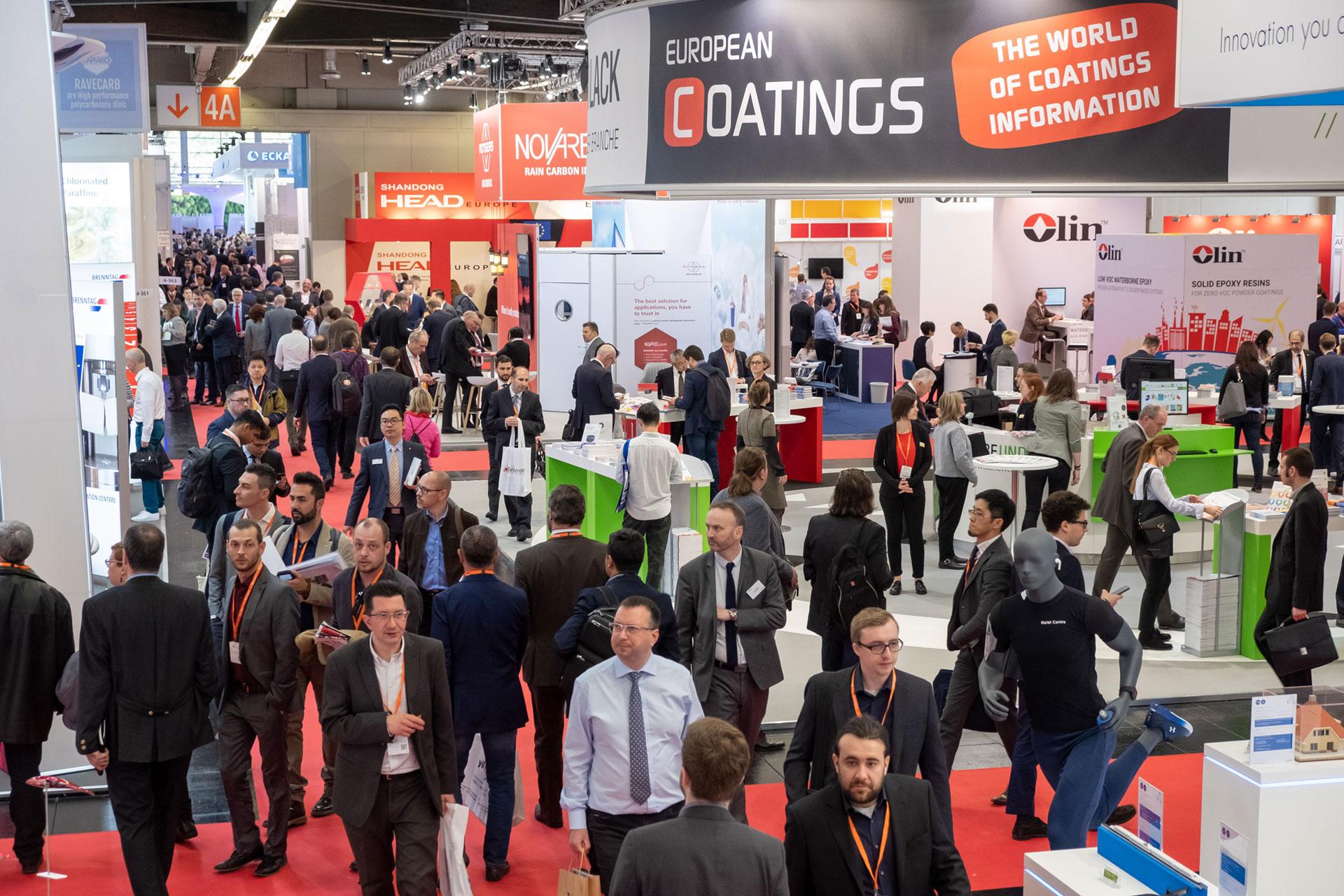DRT au European coating show 2019